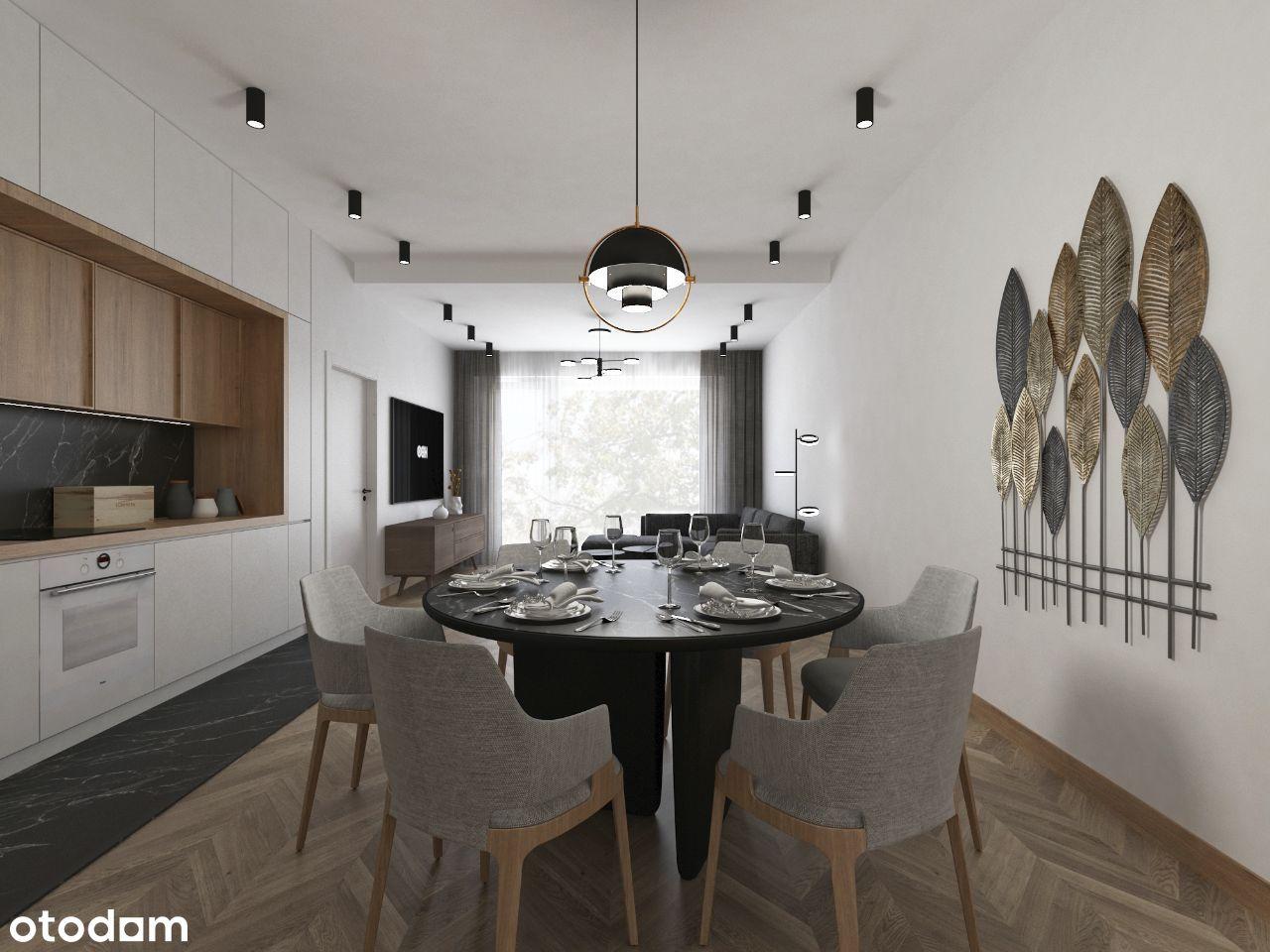Apartament 2-pokojowy 65,68 m2 z ogródkiem