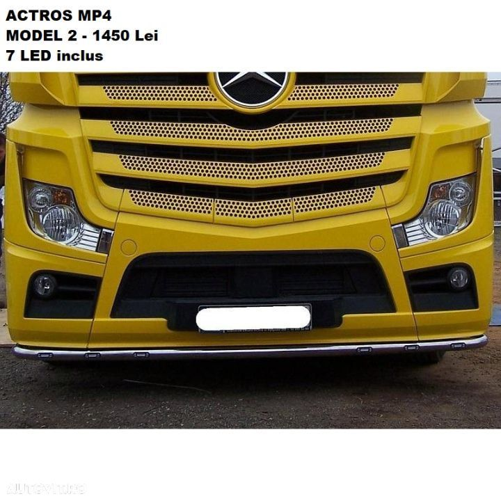 Bullbar Mercedes Actros Mp4 - 7