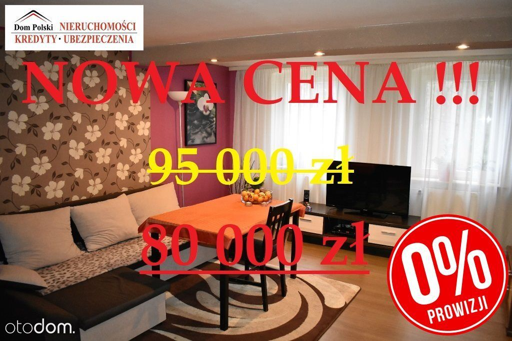 Nowa Cena !! Mieszkanie w cichej okolicy - 74,5 m2