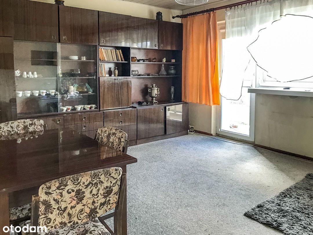 3 pokoje, 62 m2, 1 piętro, balkon, rozkład, Górna