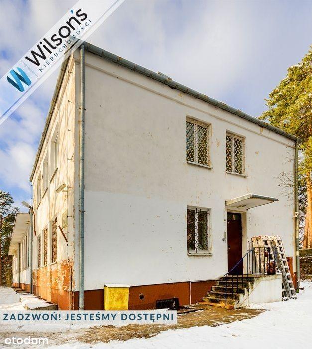 Działka (2000 m2) z budynkami Anin Wawer