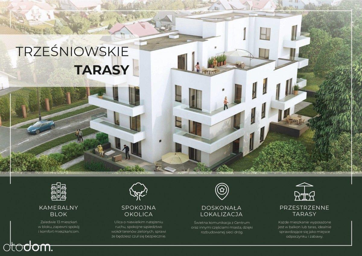 Rezerwacja Mieszkanie 4 pokoje + taras 56 m2