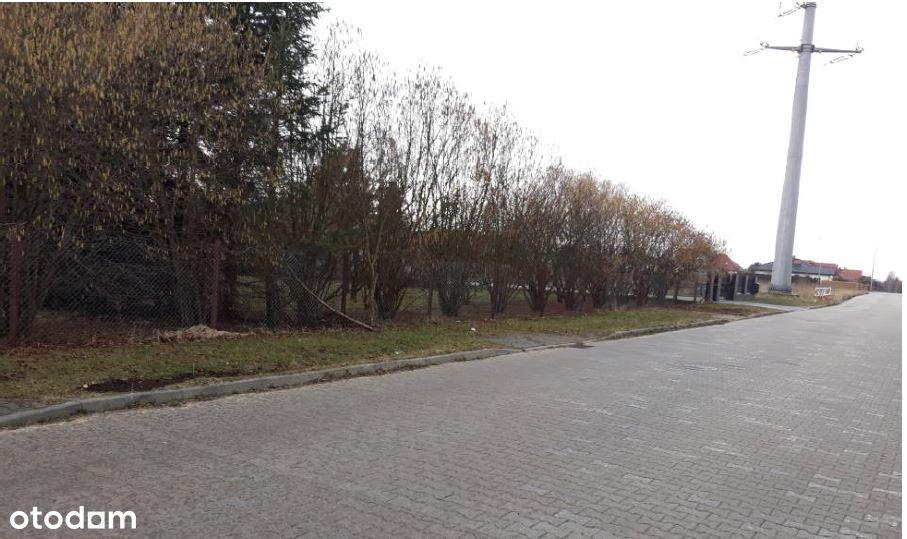Działka budowlana 1712 m2 w Bełchatowie, ul.Sadowa