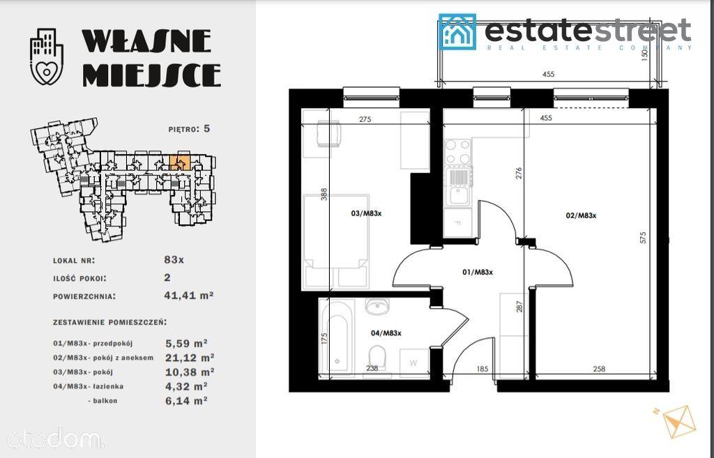 Mieszkanie 2 pokojowe |Szpakowa| Oddanie IV 2021