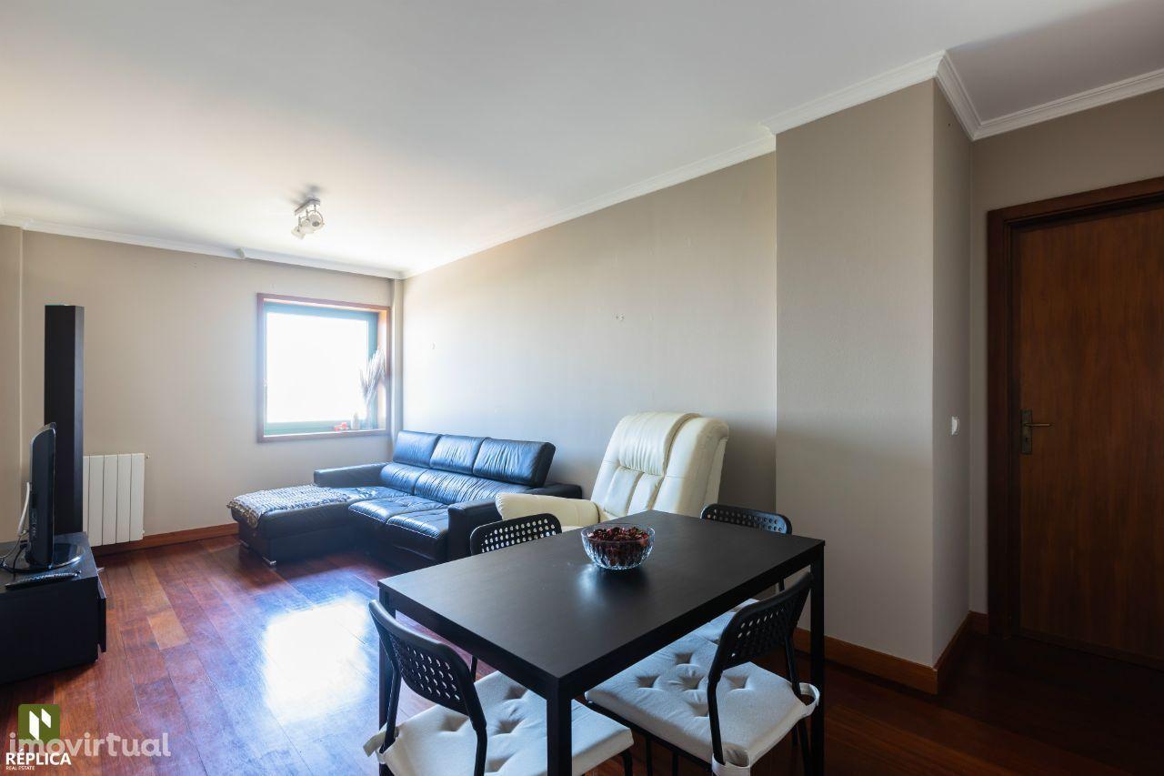 Apartamento T1 em Leça da Palmeira Mobilado