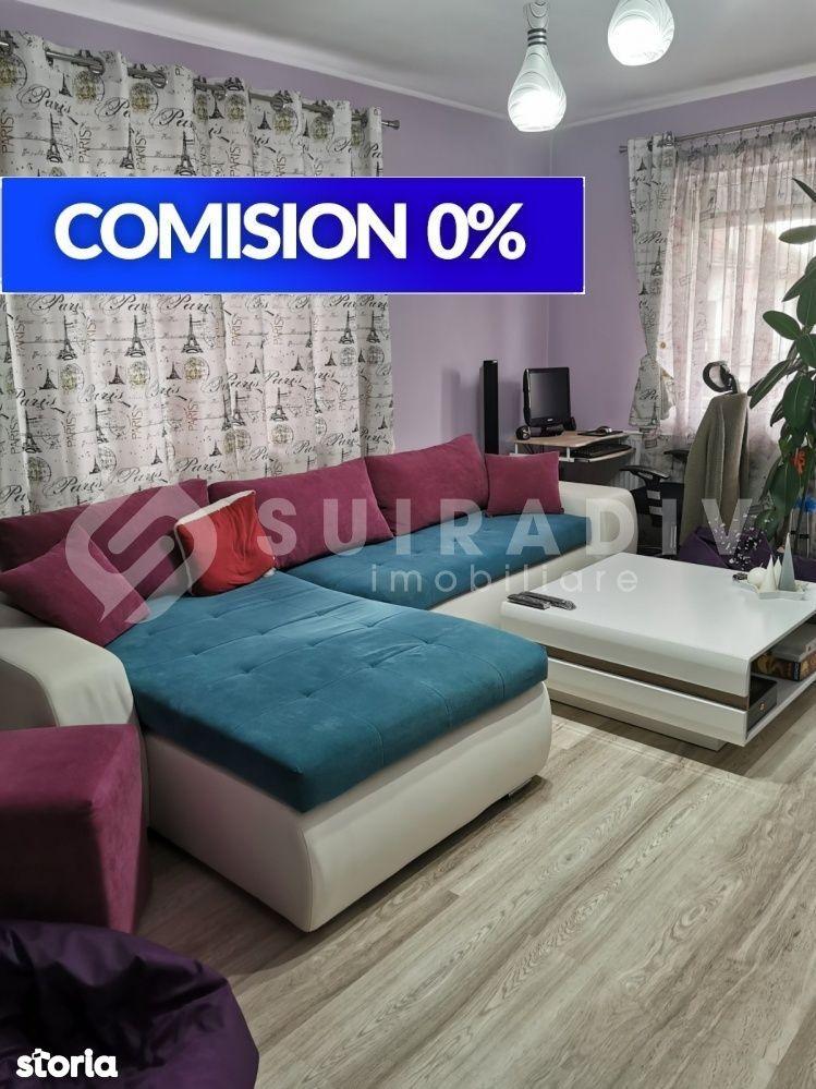 2 camere decomandate+ balcon deschis- Someseni