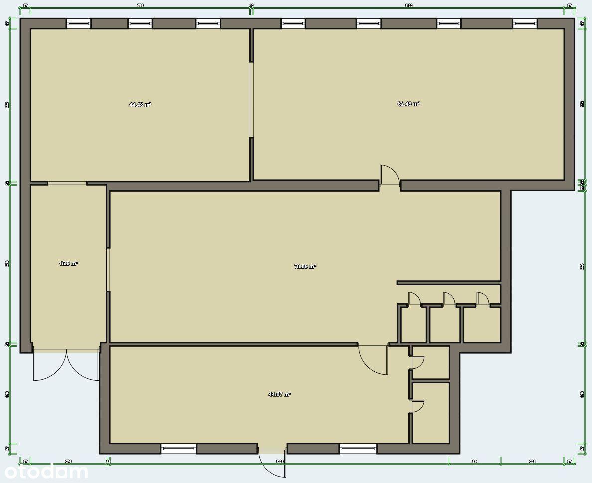 Magazyn 250 m2 z placem manewr. W-w Odolanowska 2
