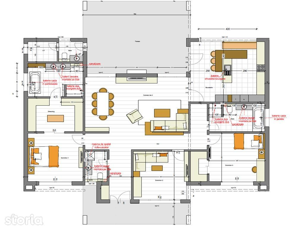 Stefanesti: Casa Pasiva Certificata, 900 mp teren