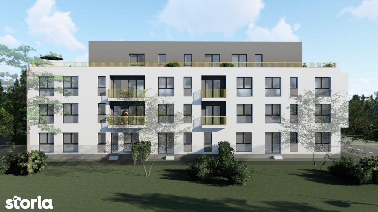 Vand apartament 3 camere, decomandat, 2 grupuri sanitare, balcon,Ozana
