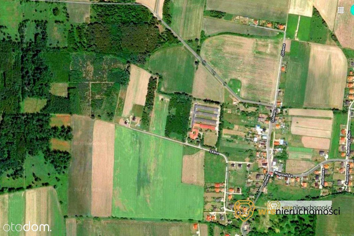działki budowlane 1000m2 lub 3000m2 gmina Czernica