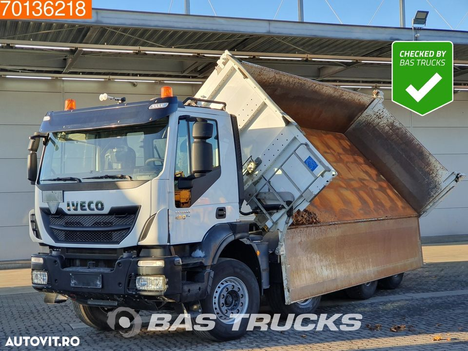 Iveco Trakker HI-Land AD340T45 8X4 Big-Axle Steelsuspension 3-Seiten Euro 6 - 1