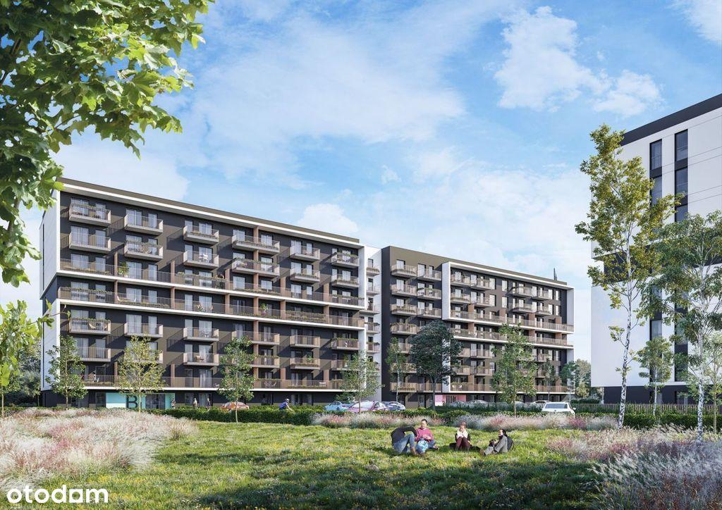 4 pokoje z ogrodem i miejscem parkingowym, Bonarka