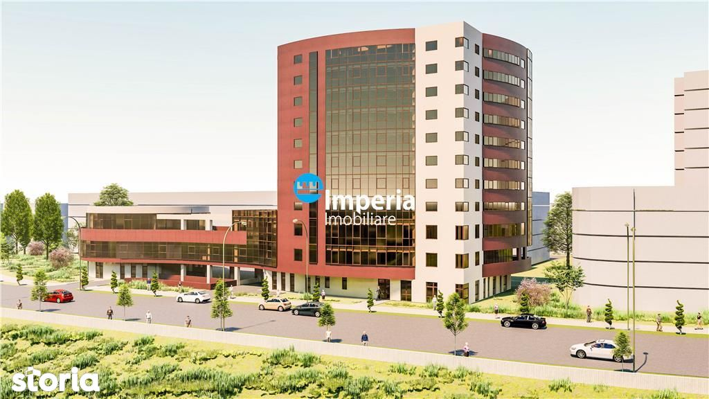 Spatii comerciale\/birouri, cladire noua, langa noul Palas Campus