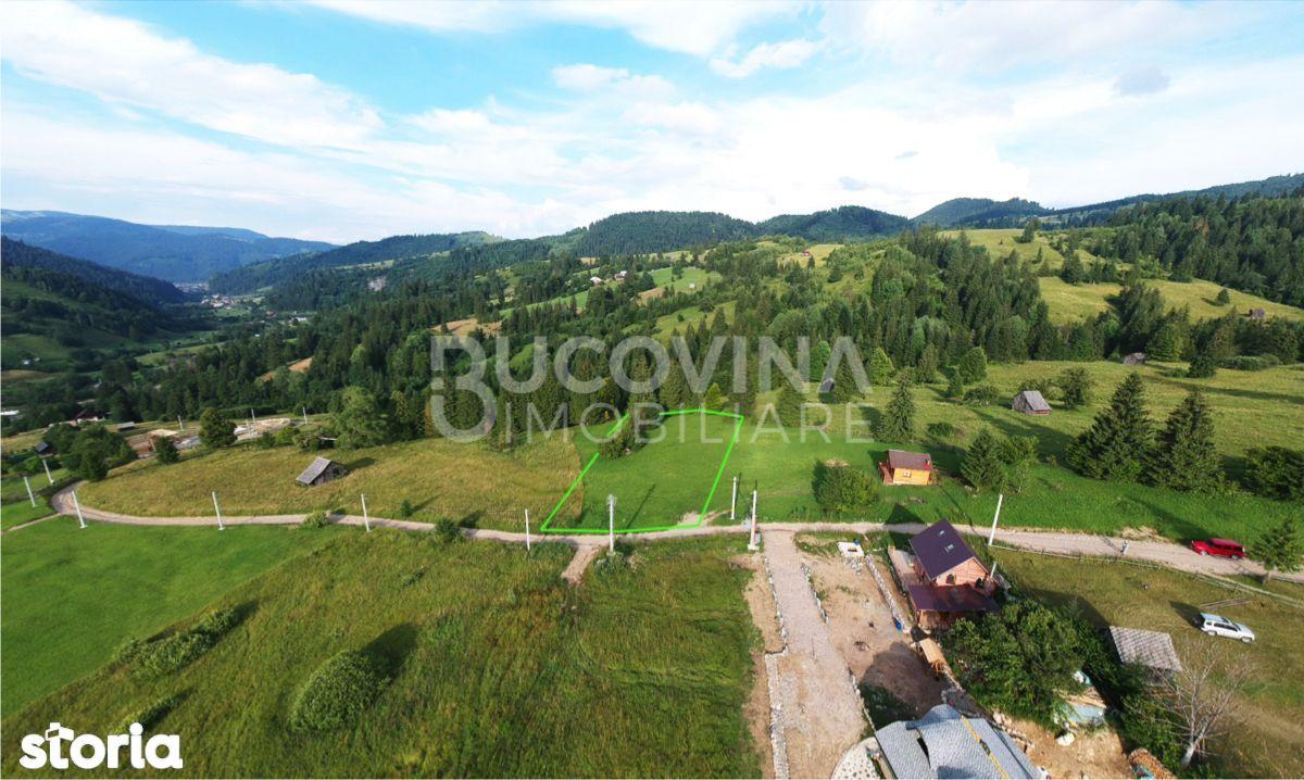 Teren lângă Pârtia Rarău Ski Resort Câmpulung Moldovenesc