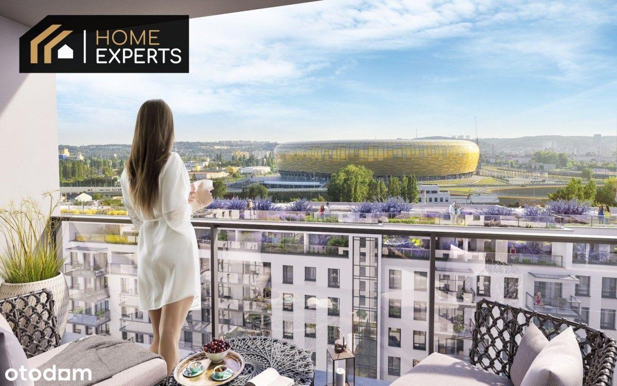 Mieszkanie ze strefą relaksu na dachu, z widokiem!