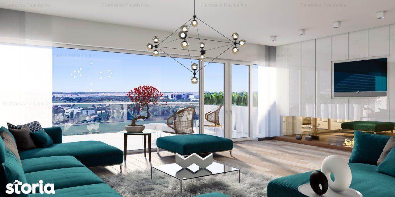 Apartament Studio - Floreasca - Finisaje Premium