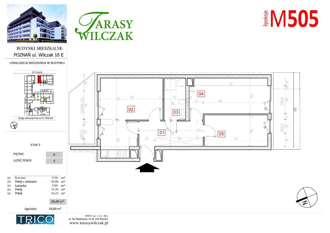 Tarasy Wilczak - 2 etap - mieszkanie 505