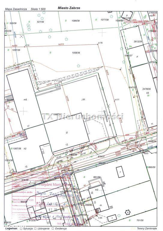 Działka, 2 537 m², Zabrze