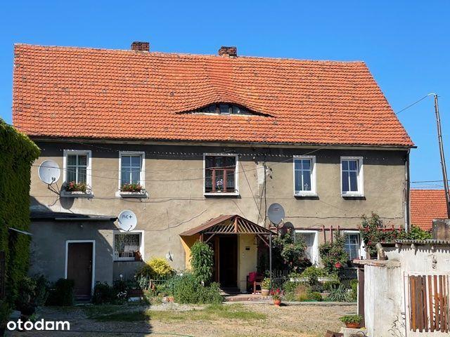 Biedrzychów - 1/2 domu z 2 mieszkaniami