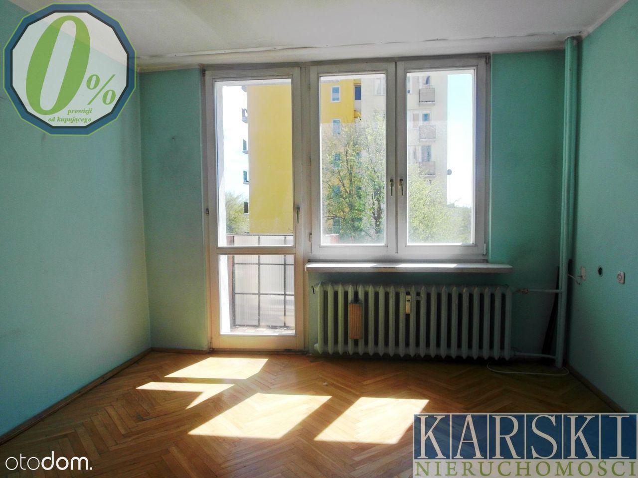 Rozkładowe, 3 pokoje, 47 m2 do remontu, Żołnierska