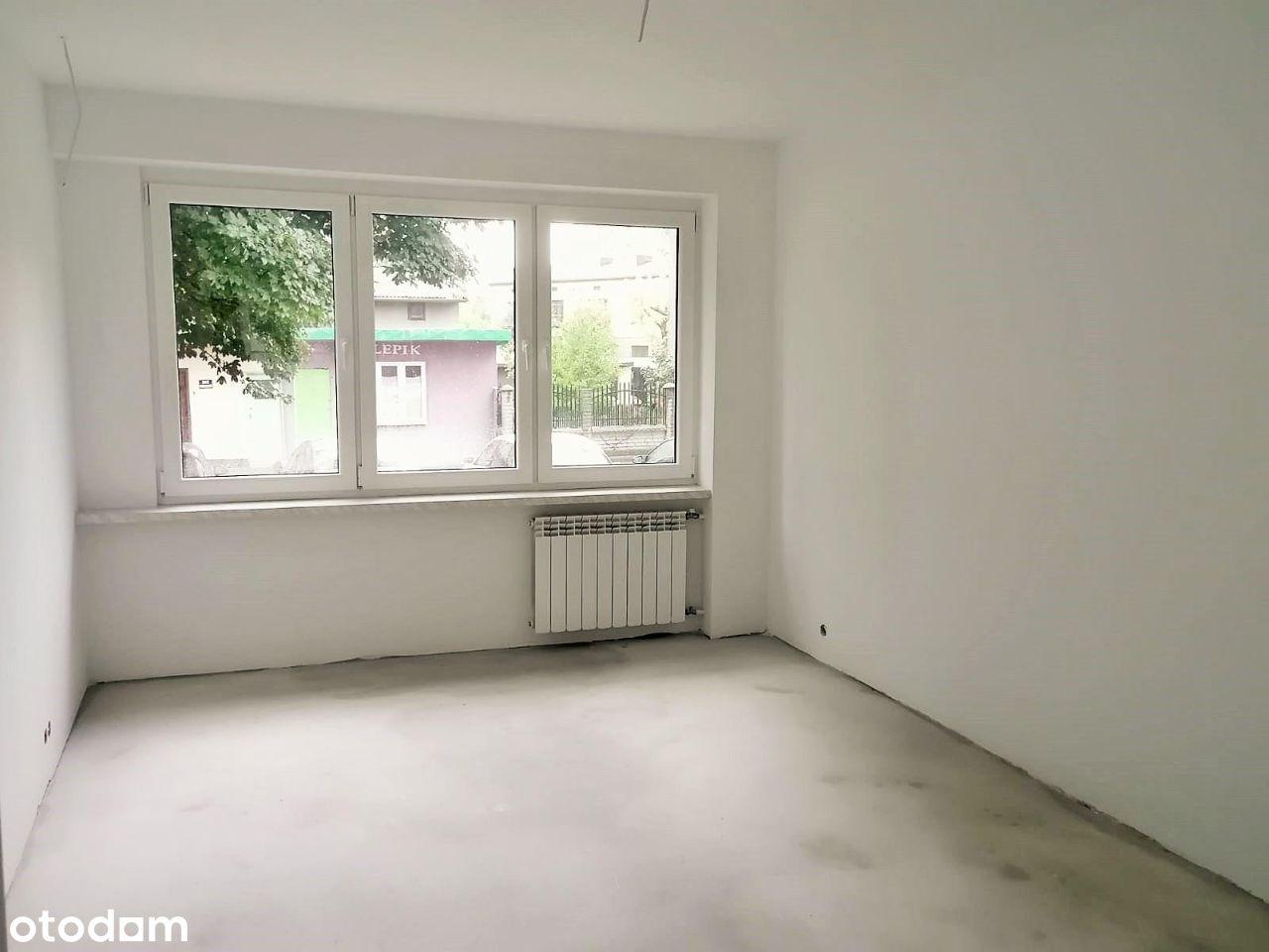 Mieszkanie 2 pokoje, parter, do wykończenia!