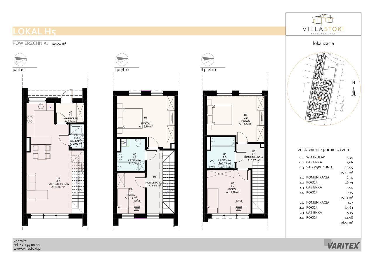Dom typu 112 - Villa Stoki (dom H.05)