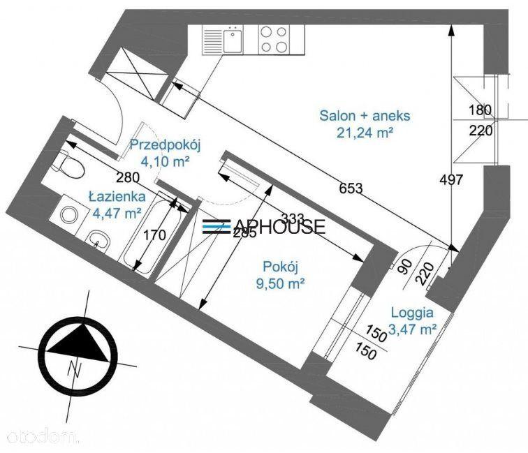 Gotowe 2 pokojowe mieszkanie Zabłocie/Płaszów