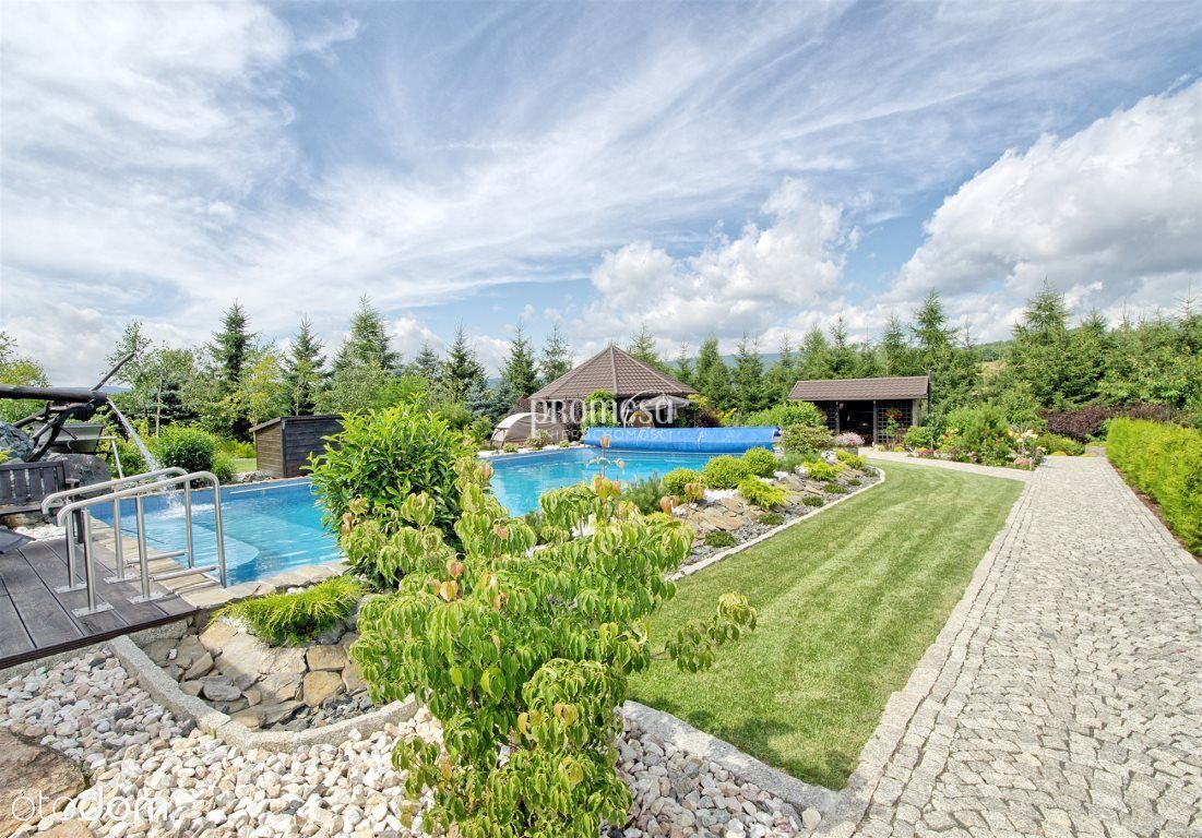 Unikatowa oferta/najpięklnieszy ogród/basen/jezior