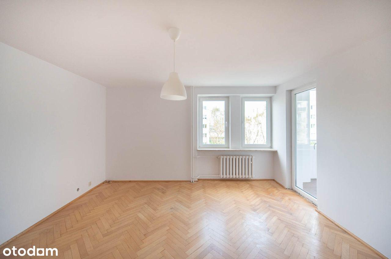 Płaszów – 3 pokoje, duża loggia, atrakcyjny układ