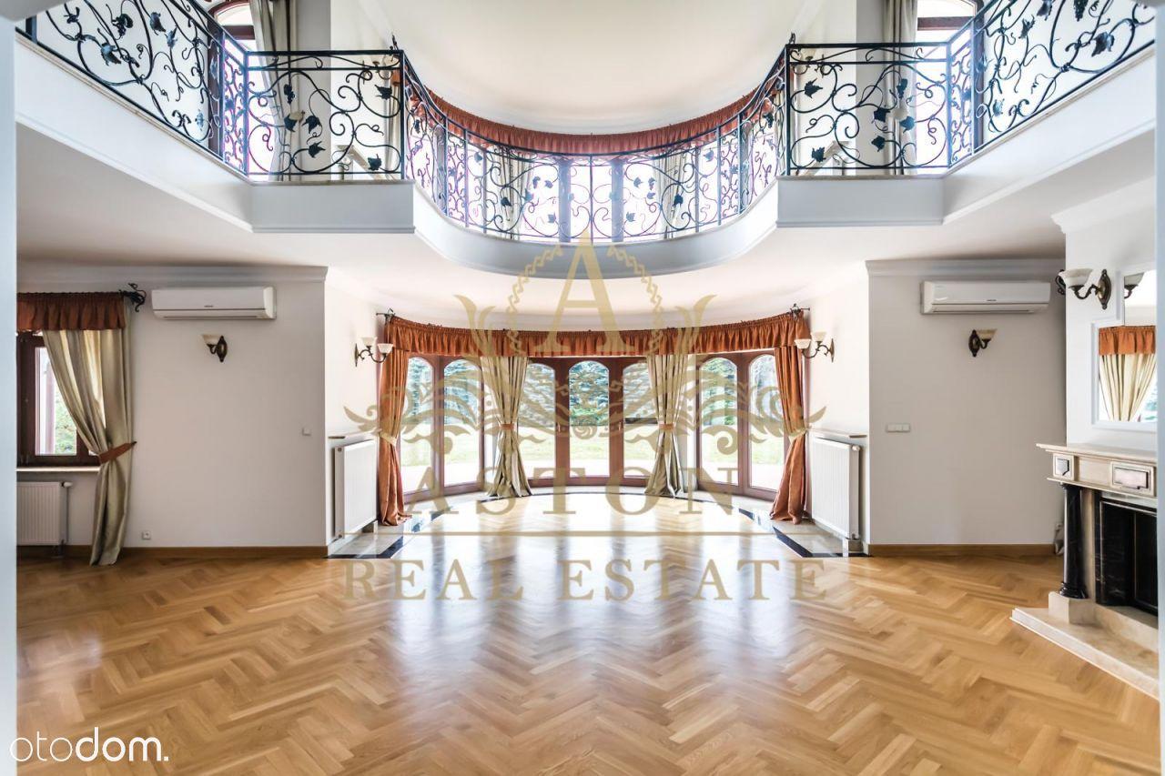 Luksusowa rezydencja o pow. 1100 m2 na Wilanowie