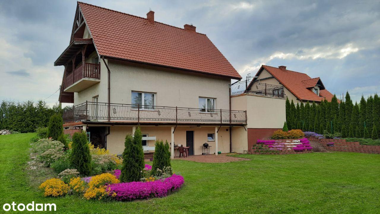Dom jednorodzinny z dużym ogrodem