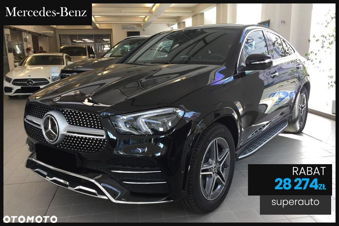Mercedes-Benz GLE Coupe 400 d 4-Matic AMG (330KM) | Night + Advanced Plus - 1