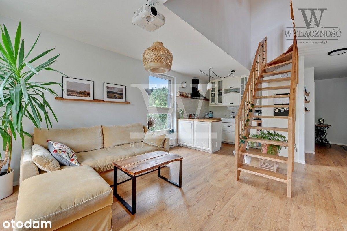 Rodzinne mieszkanie z dwoma tarasami i balkonem
