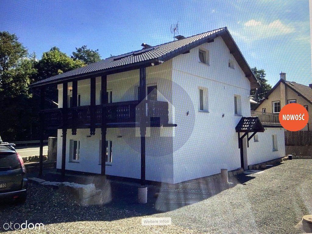 Dom w stylu alpejskim.