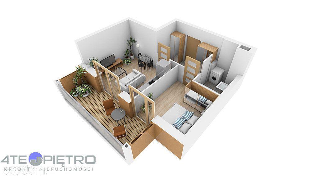 Nowe mieszkanie, 2 pokoje + Ak, 38m2, Czuby, 2022r
