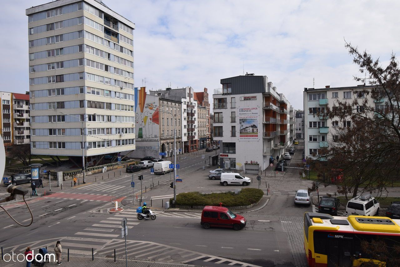 Mieszkanie w centrum, 2 pokoje, rozkład, balkon!