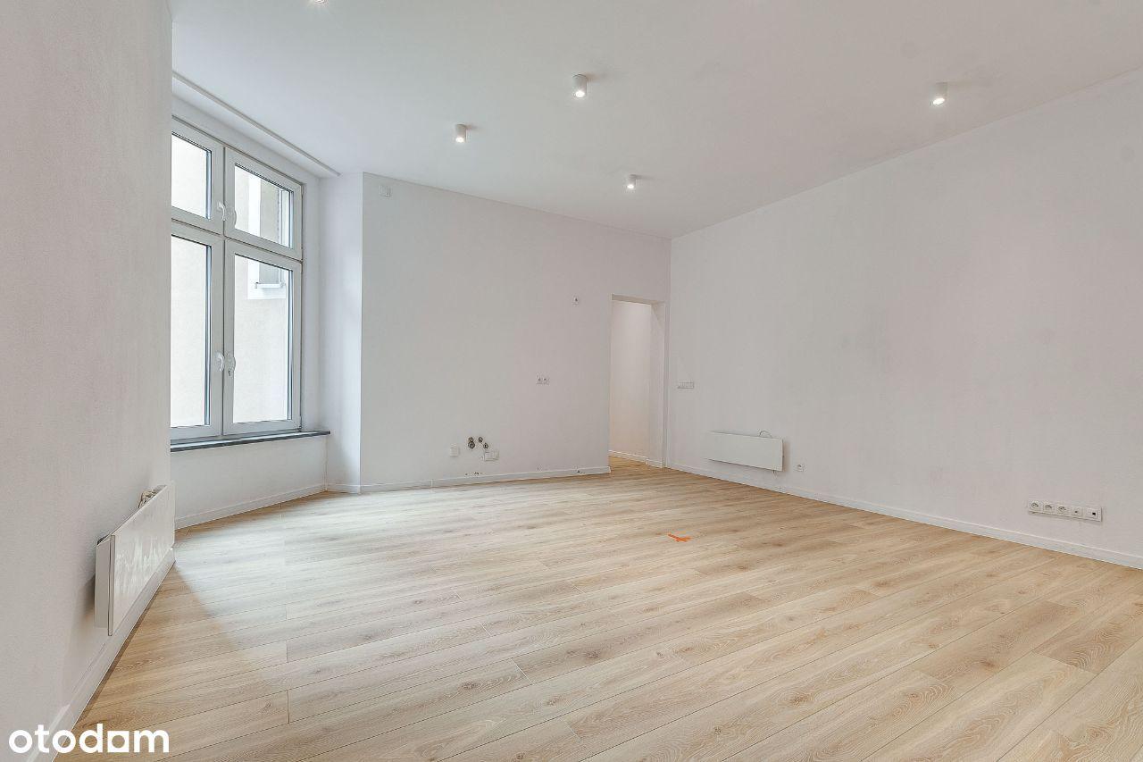 Gotowe mieszkanie, 59 m² + piwnica. Śródmieście