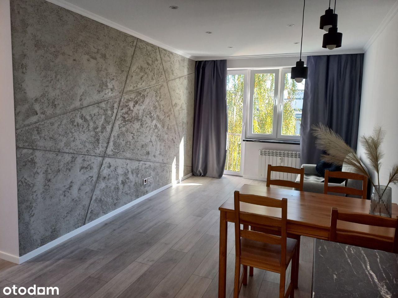 Nowoczesne mieszkanie 2 pokoje 37,4 m2 po remoncie