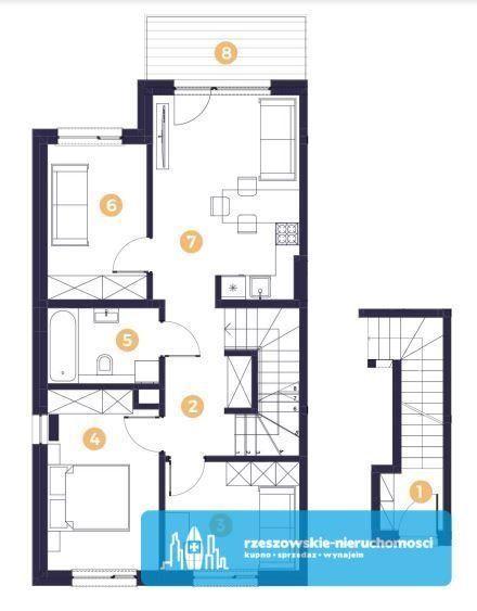 Nowość !!! / 4 pokoje / 87 m2 / 2 X parking