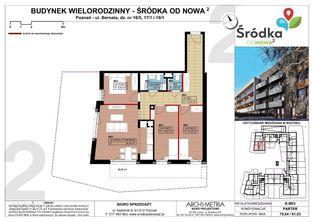 Mieszkanie B.M03 Poznań Śródka OdNowa 2