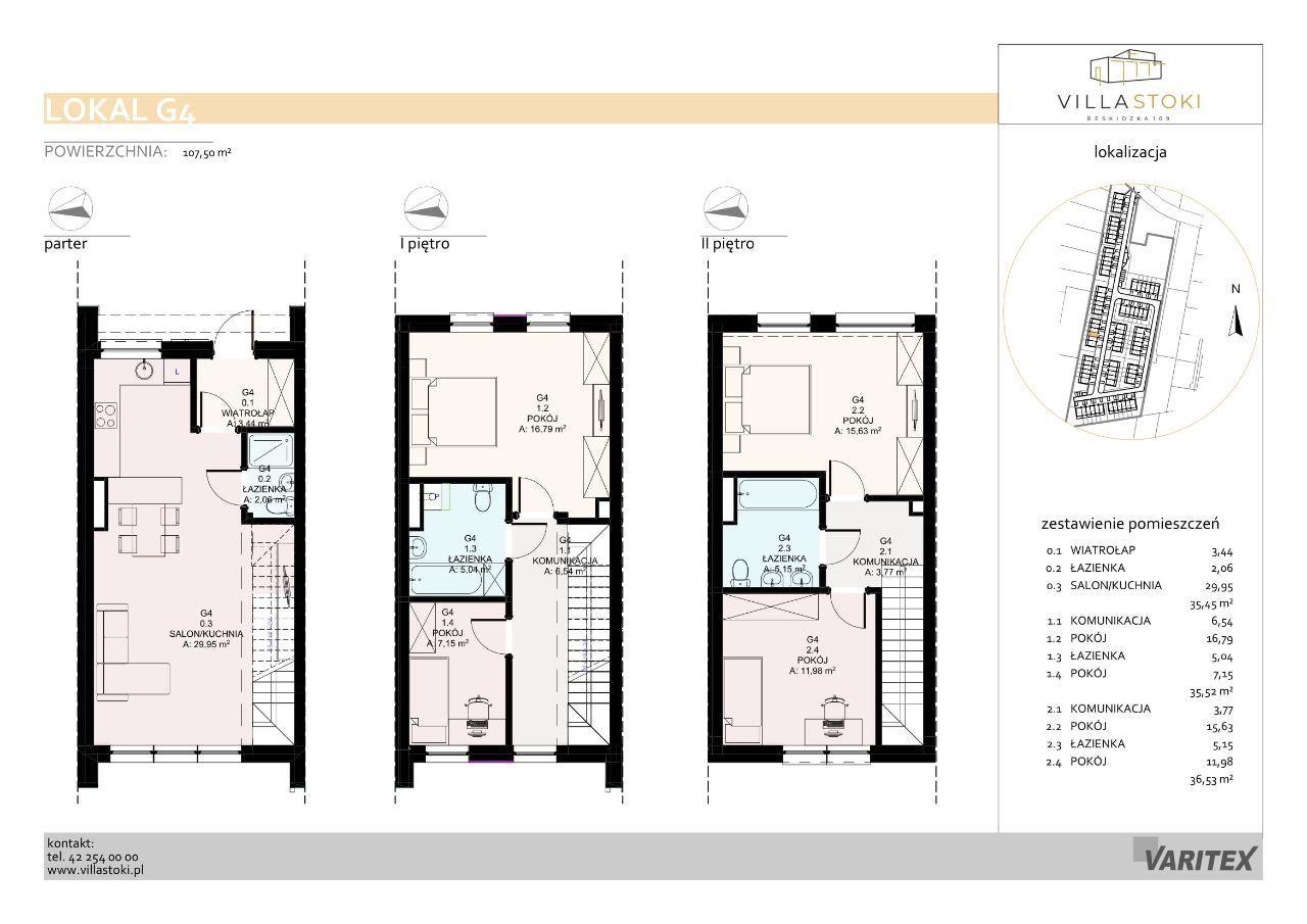 Dom typu 112 - Villa Stoki (dom G.04)