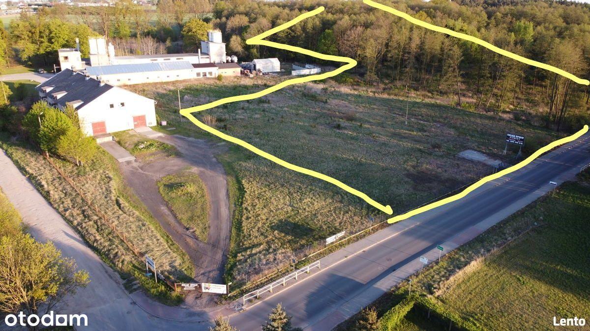 działka teren Brodnica-KOMINY do wynajęcia 25000m2