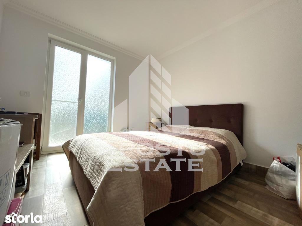 Apartament cu 2 camere, curte de 124 mp in Dumbravita. Comision 0