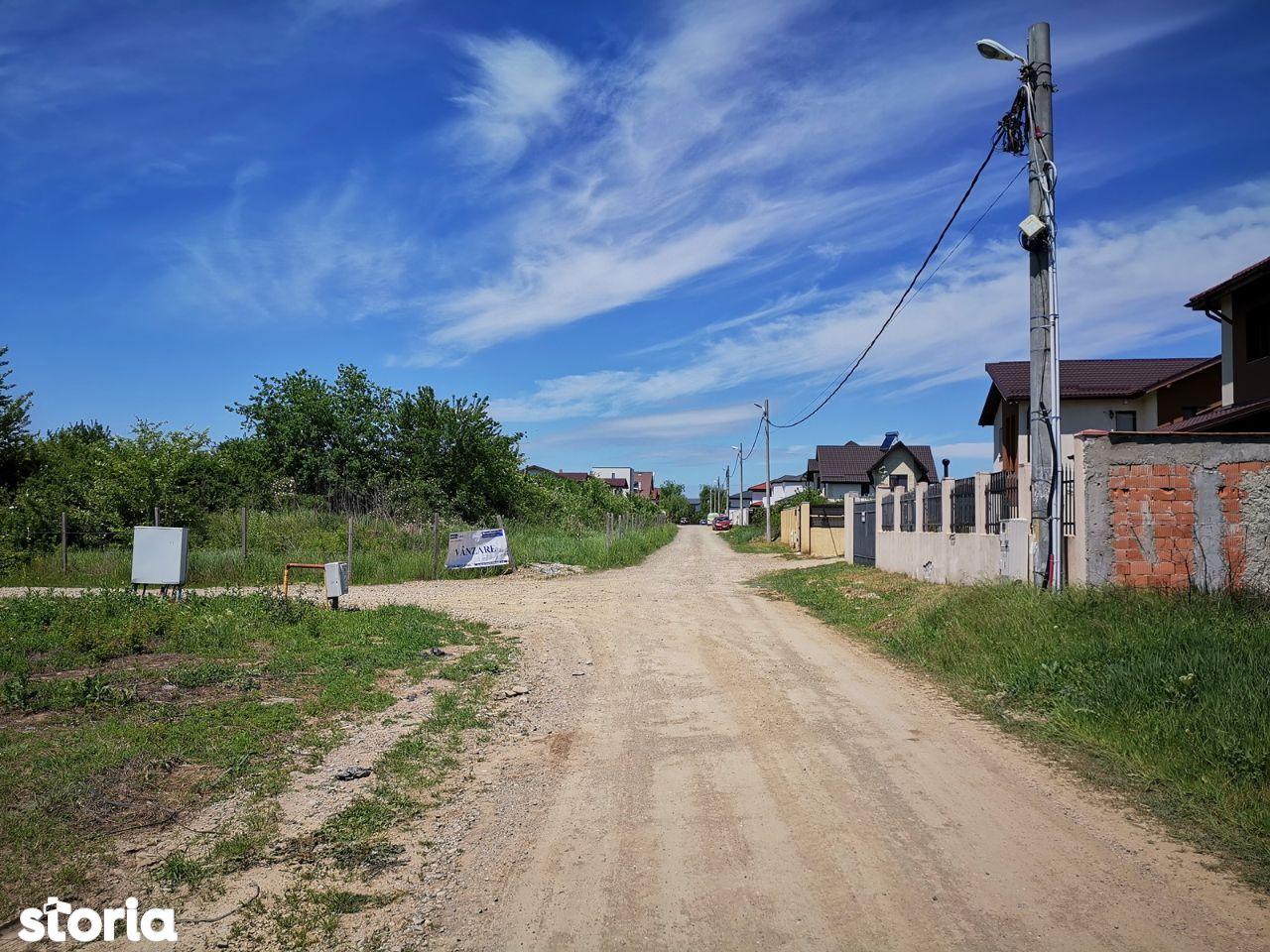 Mogosoaia, strada Fuiorului, teren suprafata 2570mp