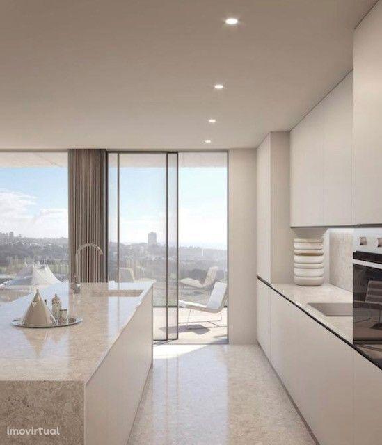 T2 em construção Matosinhos Sul com 93,80 m2 (Norte / Nascente)...