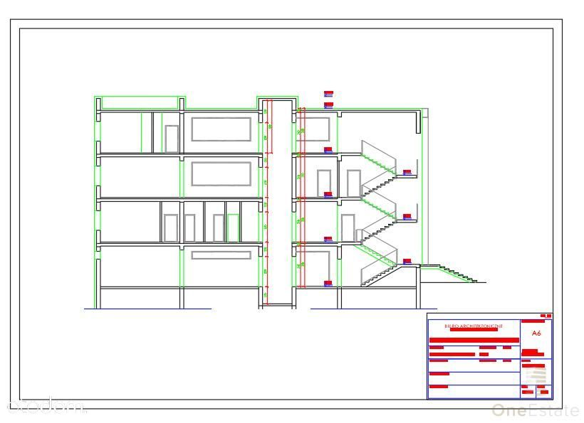 Budynek Usługowy - Rząska - projekt