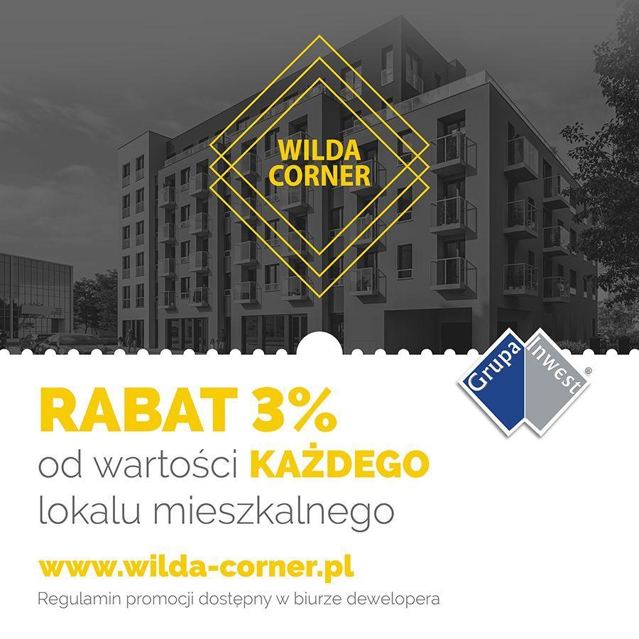 NOWE Wilda Corner 2 POKOJE 46 m2 OKAZJA