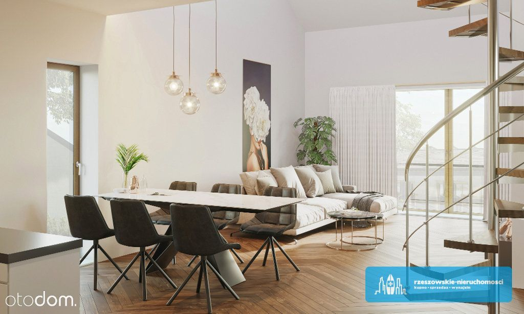 Przestronne mieszkanie z antresolą