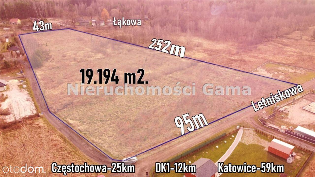 Działka, 19 194 m², Choroń