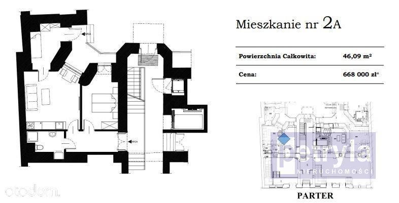 Mieszkanie 46m2 Stare Miasto